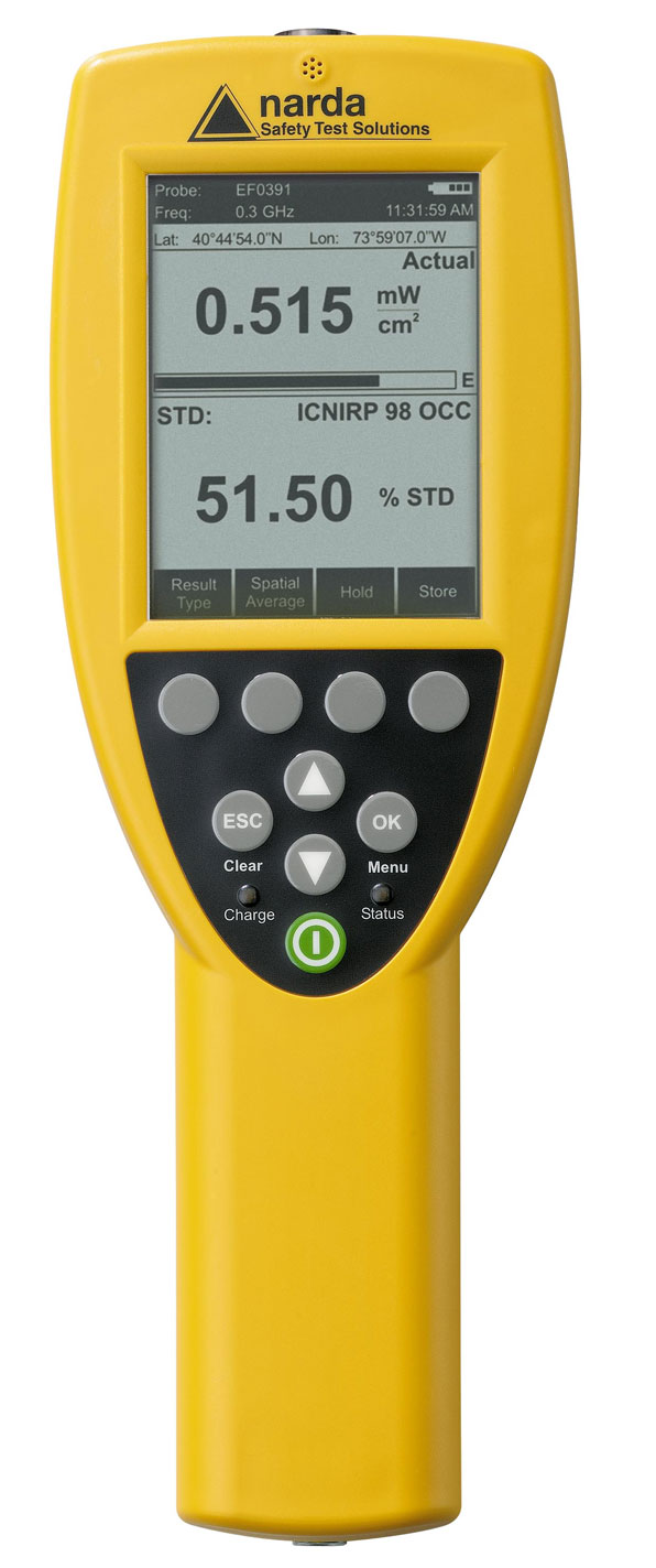 Electromagnetic Field Meter : Narda broadband introduces electromagnetic field meters
