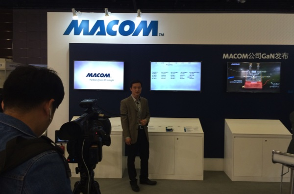 Echo Cheng discusses MACOM's capabilites.
