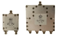 Microwave  L-Band  2-way - 4-way Power Dividers