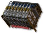 16 kW AMPLIFIER RACK ASSEMBLY 1