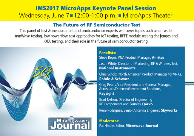 The future of rf semiconductor test 2017 03 28 microwave journal ims2017 microapps panel fandeluxe Images