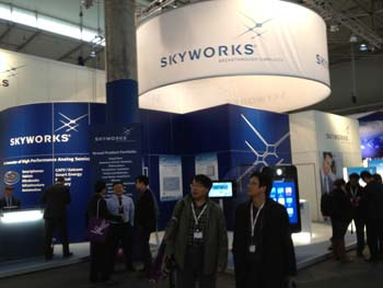Skyworks booth