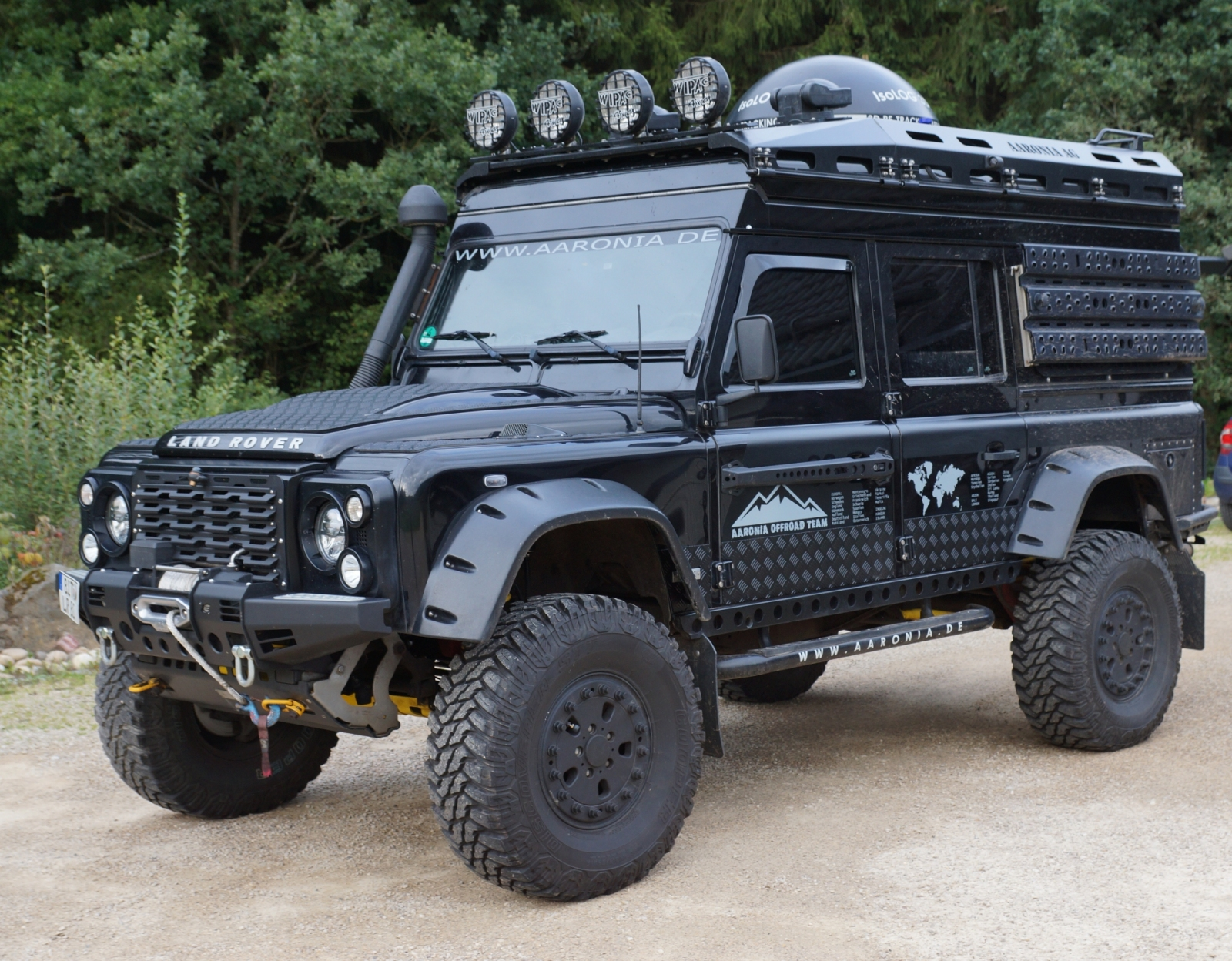 Aaronia Defender Land Rover