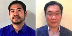Hajime Yokota and Shigetoshi Yokota of Exceed Microwave