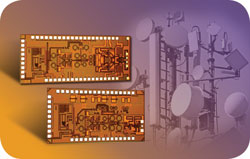 Highly Integrated  60 GHz Radio Transceiver Chipset