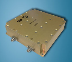 Dual-band switchable ka-band buc