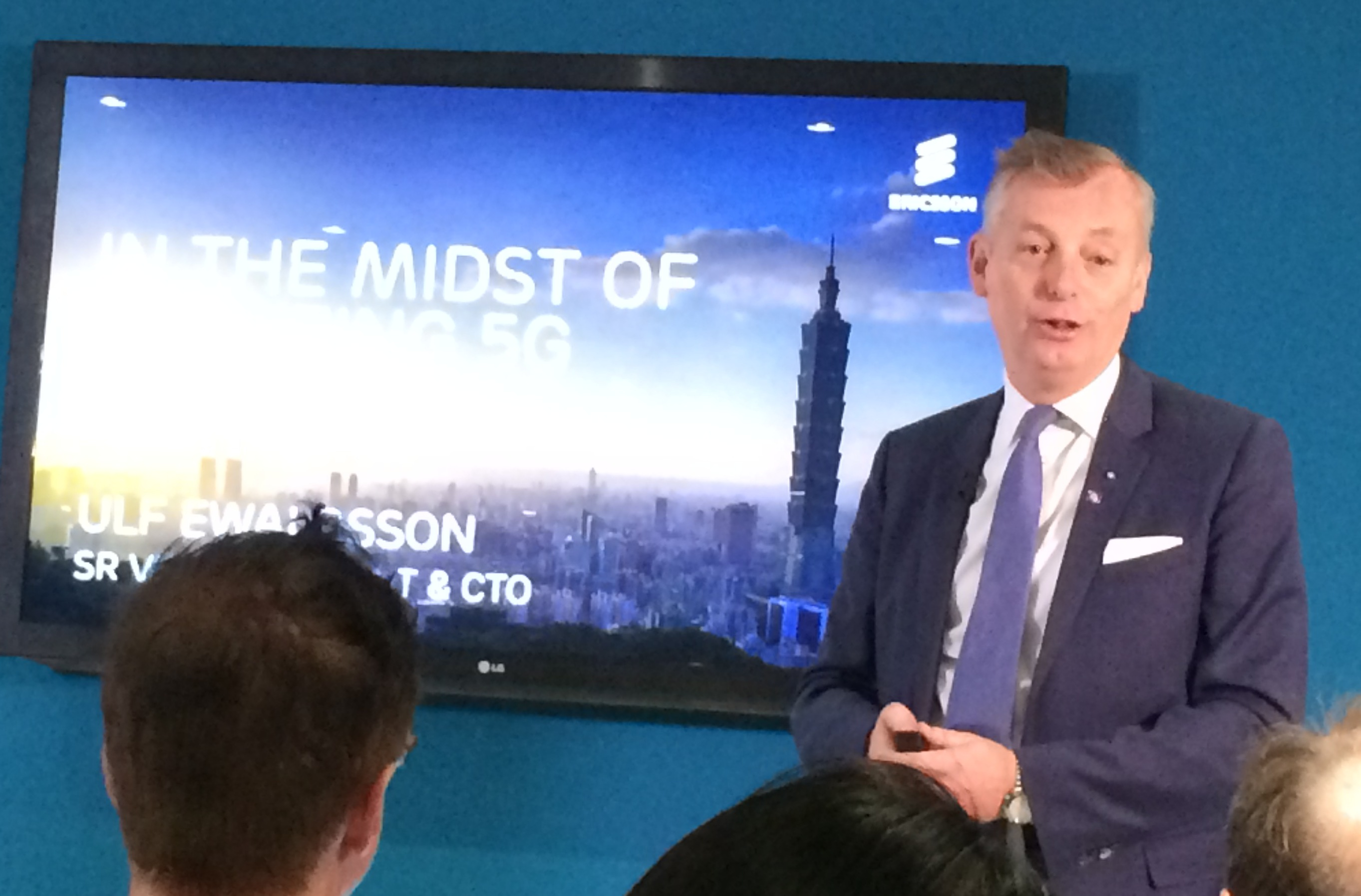 Ericsson CTO Ulf Ewaldsson explains the company's thinking on 5G.