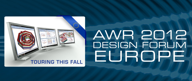 AWR Design Forum Europe 2012