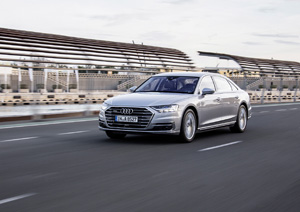 Audi Relies On Infineon Worlds First Series Production Car With - Audi car series