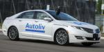 Autoliv self-driving car