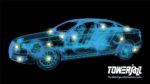 TowerJazz automotive graphic