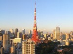 Tower and skyline in Tokyo