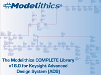Modelithics releases the COMPLETE Library v16 0 for Keysight's ADS