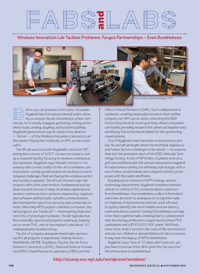Fabs and Labs: WPI