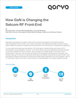 How GaN is Changing the SATCOM RF Front-End