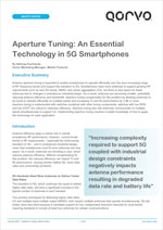 Aperture Tuning: An Essential Technology in 5G Smartphones