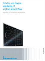 Reliable and Flexible Simulation of Angle of Arrival (AoA)