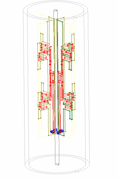 Simulation Improves Performance of High-Frequency Colinear